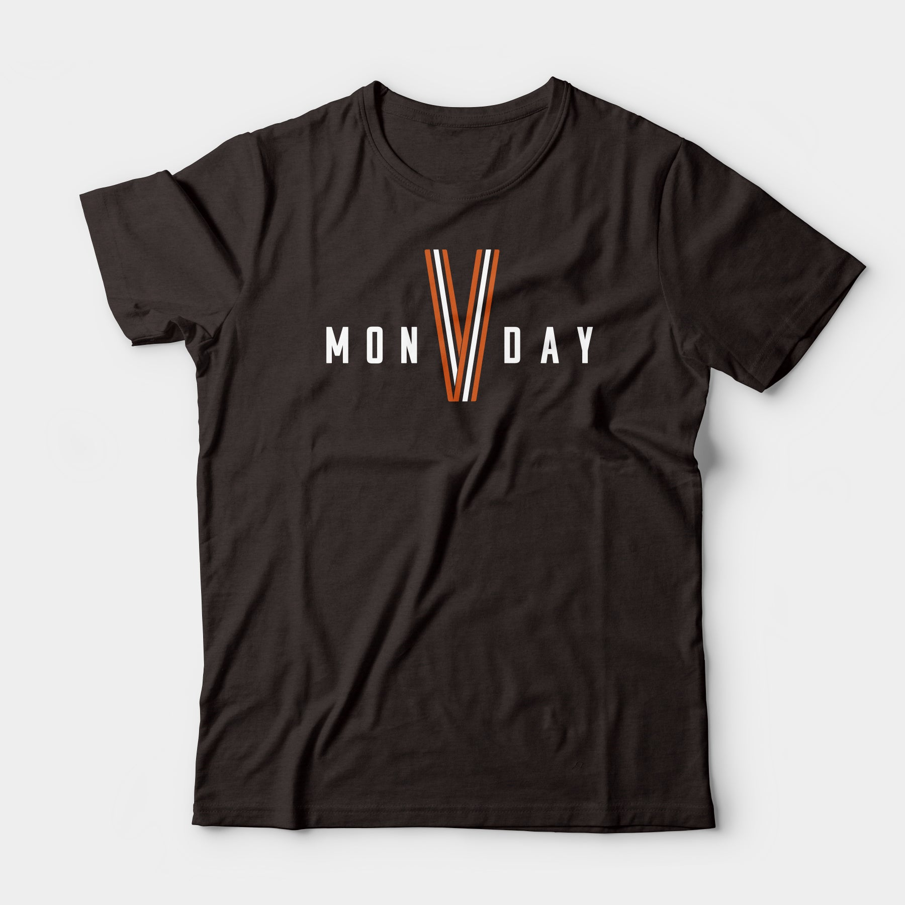 Victory Monday Tee, Brown