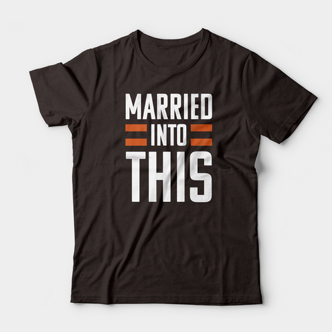 Married Into This Tee, Brown