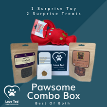 Load image into Gallery viewer, Pawsome Combo Box - Love Ted