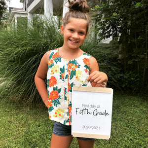 Complete Bundle: First Day of School {Signs}