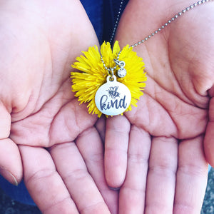 Bee Kind {Youth Necklace}