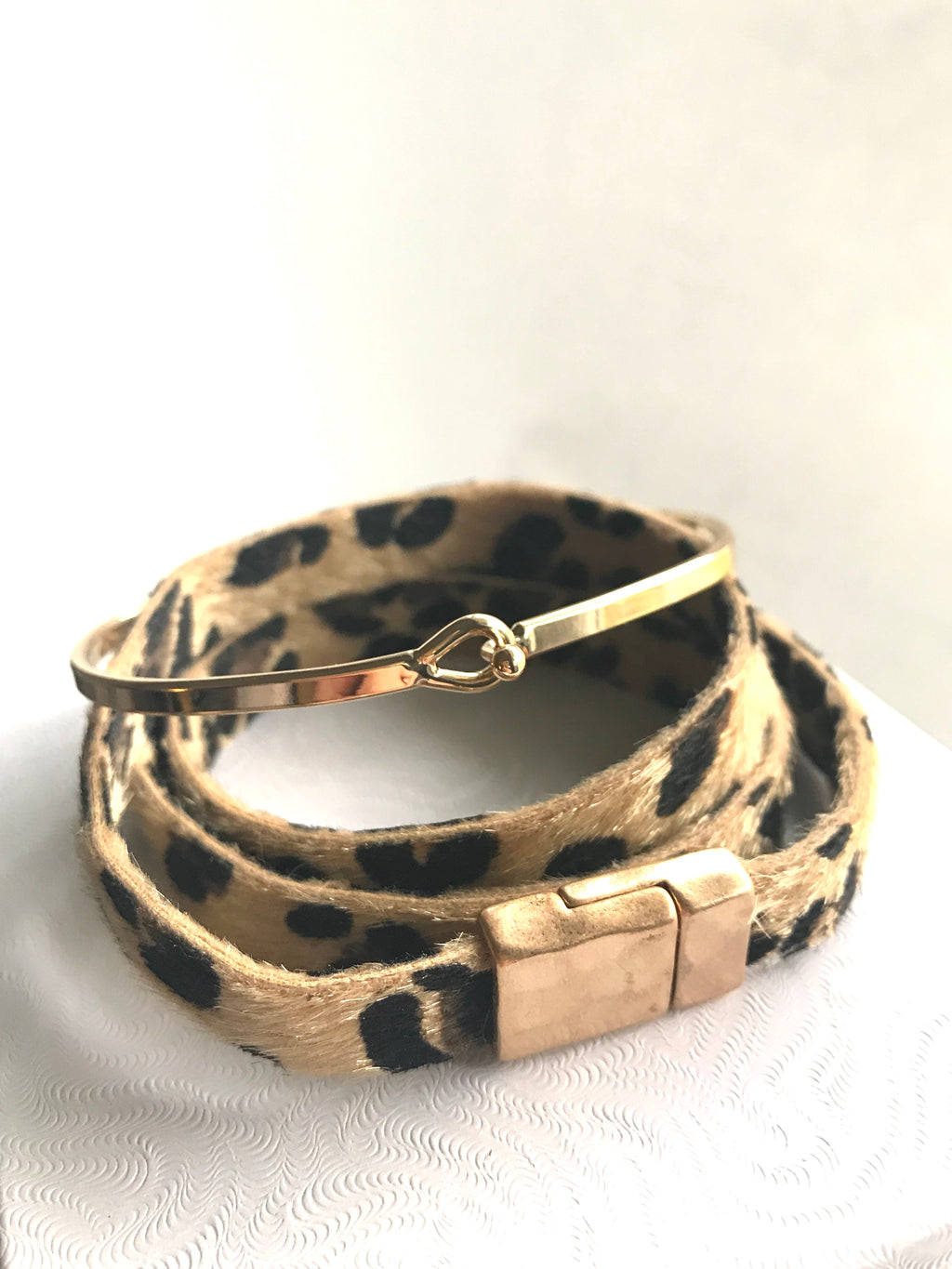You Are Enough Leopard {Bracelet}