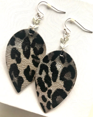 Izzy Leopard Drop {Earrings}