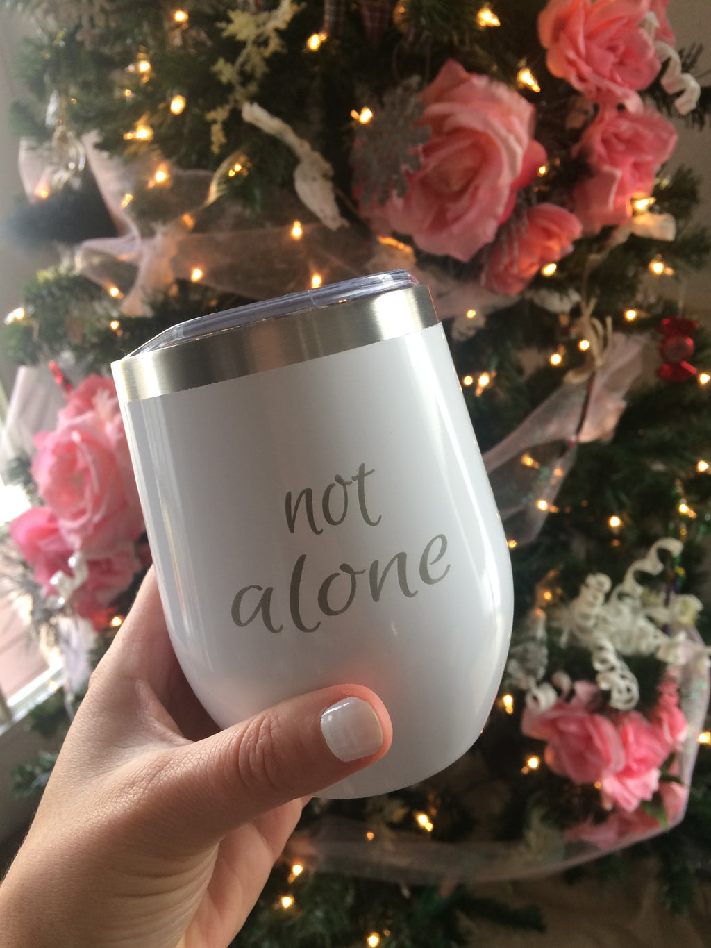 Not Alone {tumbler}