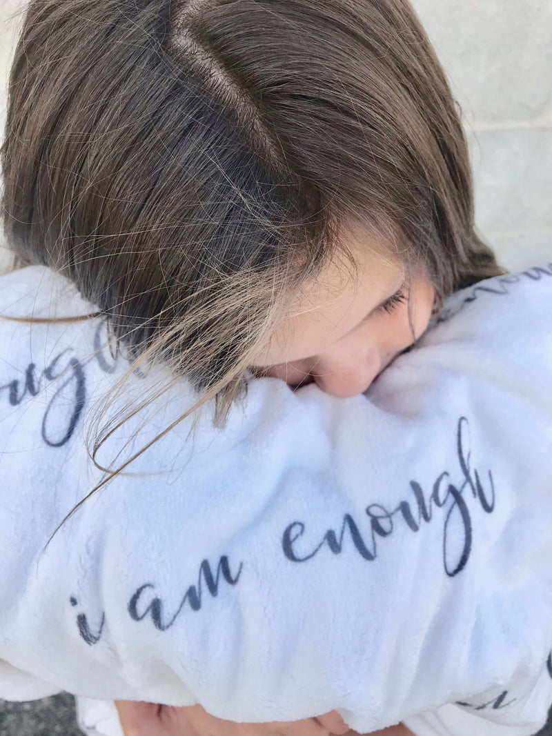 I Am Enough {Blanket}