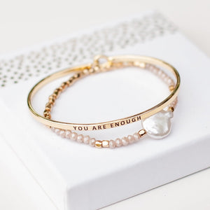 You Are Enough {Bracelet}