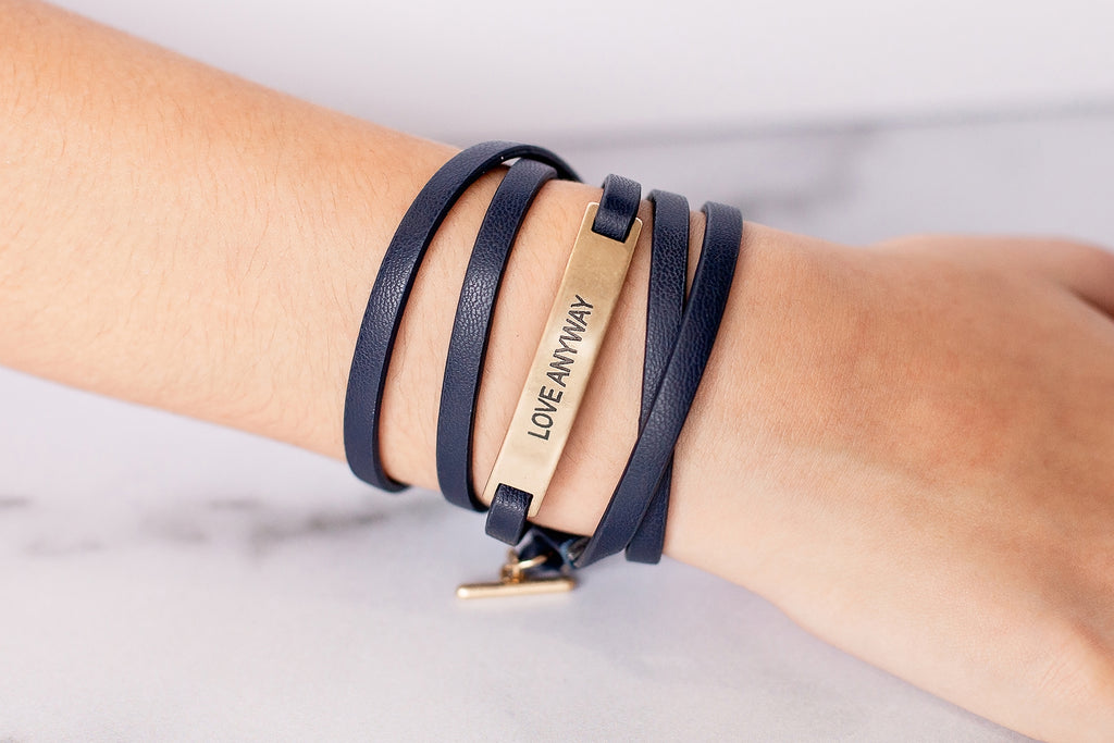 Love Anyway Wrap {Bracelet}