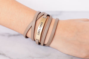 I Belong Wrap {Bracelet}