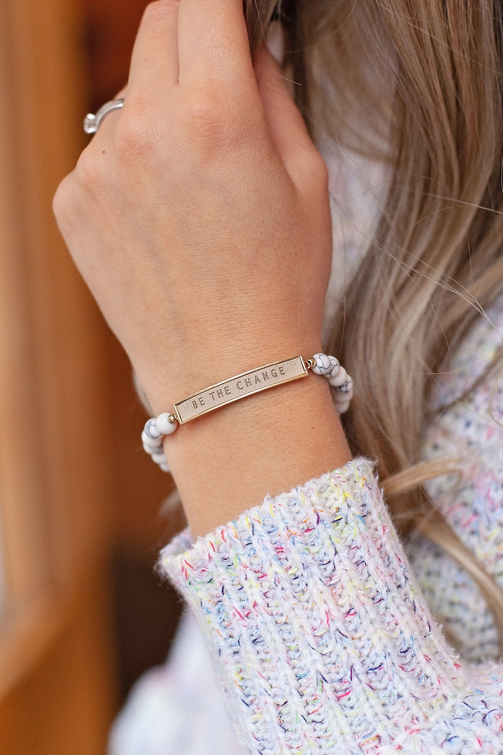 Be The Change {Bracelet}