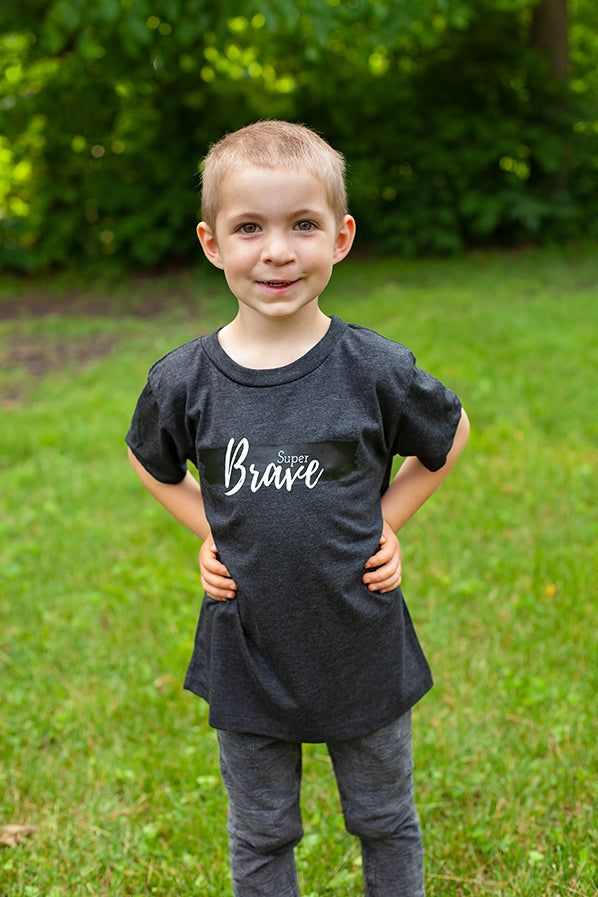 Super Brave Child Shirt {ADD ON ONLY}