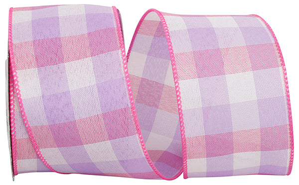 "2.5""x10yd Pastel Check Plaid - Multi"