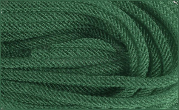 8Mm x 30yd Moss Green Faux Jute Flex Tubing