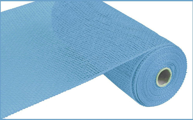 10in x 10yd - Blue Poly Burlap Mesh