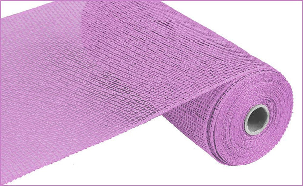 10in x 10yd - Lavender Poly Burlap