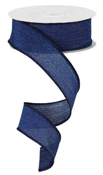 1.5in x 10yd - Royal Denim Ribbon