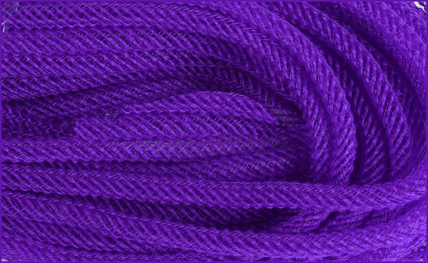8mm x 30yd Purple Jute Flex Tubing