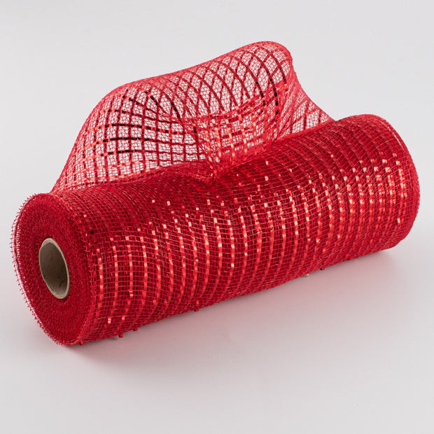 "10""X10yd Wide Foil Mesh - Red"