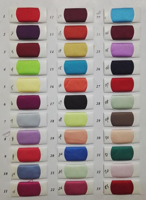 Satin Color Swatch at www.musebridals.com