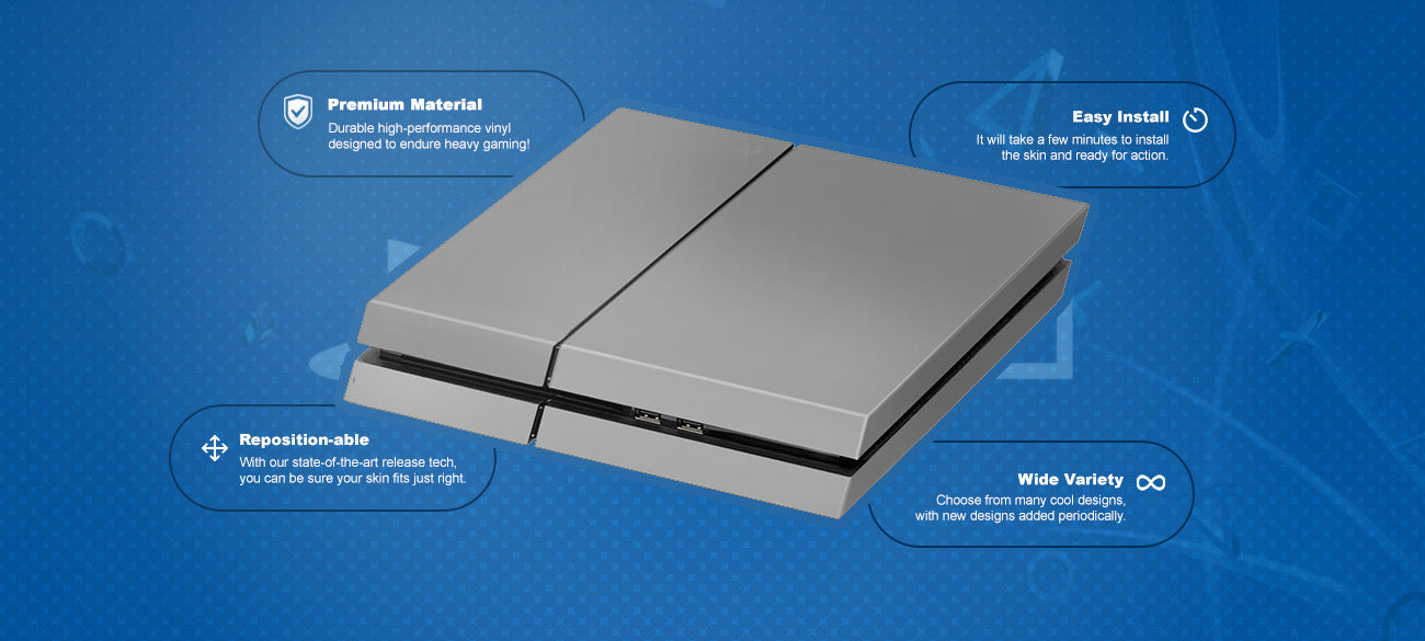 Space #1 PlayStation® 4 Skin Features