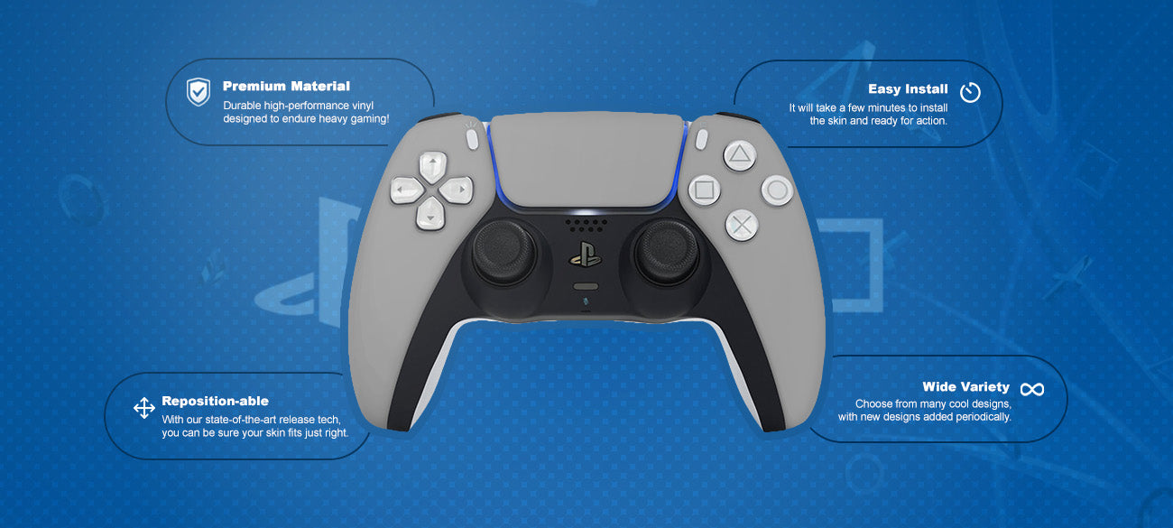 Marvel Spiderman #8 PlayStation® 5 controller Skin Features