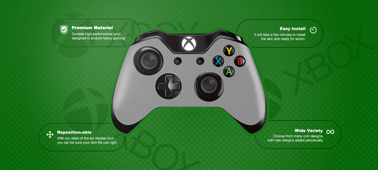 Space Kitty Xbox™ one controller Skin Features