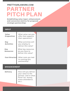 DIGITAL DOWNLOAD: Partner Pitch Plan