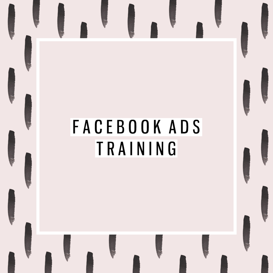 Facebook ads training (3 uur)
