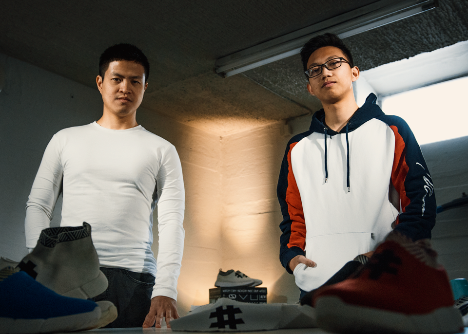 Jesse and Son - Cofounders of Rens Coffee Sneakers