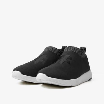 Men's Coffee Sneakers - Arctic Black