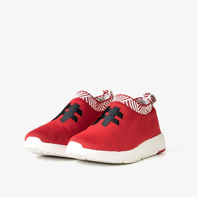 Women's Coffee Sneakers - Passion Red