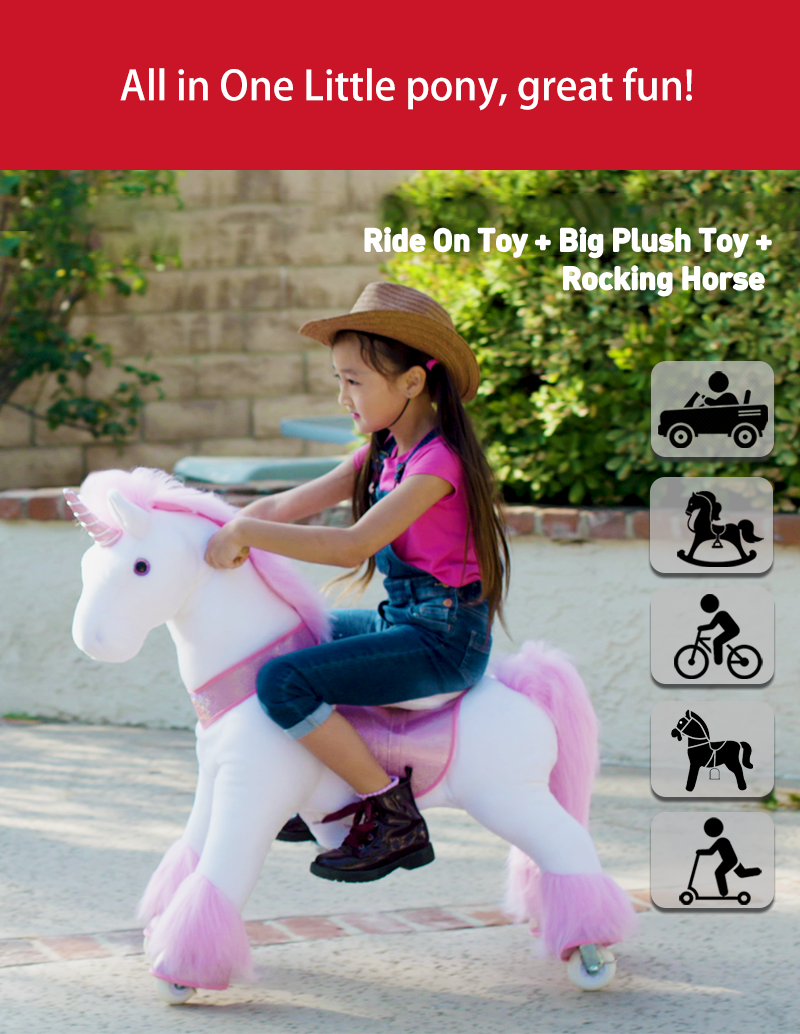 PonyCycle ride-on unicorn all-in-one