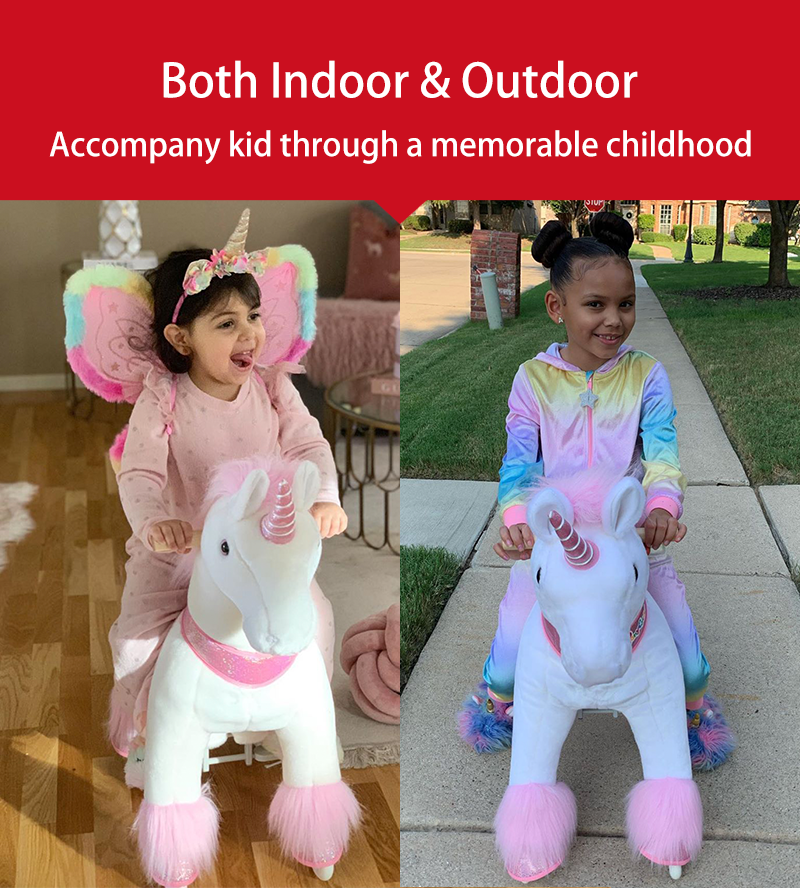PonyCycle ride-on unicorn outdoor play