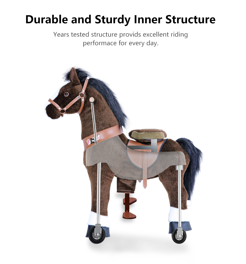 PonyCycle ride on horse toy  inner structure