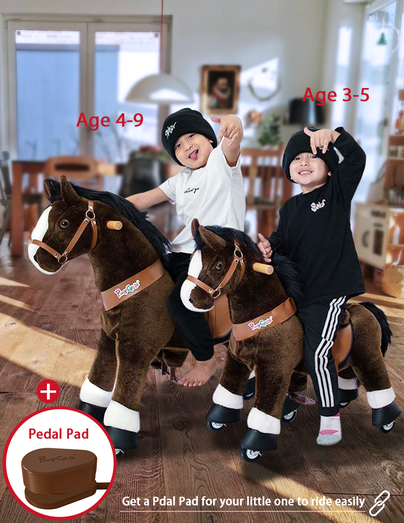 PonyCycle ride on horse toy  pedal pad
