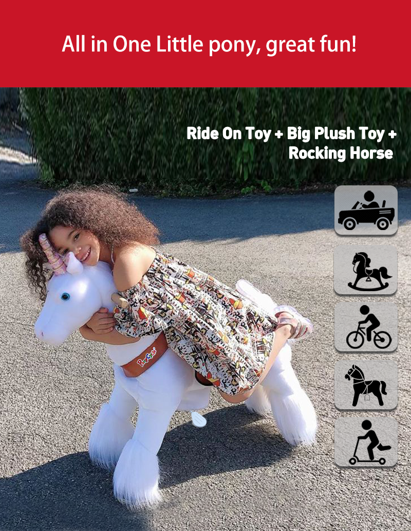 PonyCycle unicorn ride on toy all-in-one