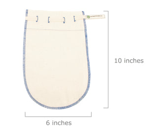 Organic Cotton Cheesecloth Bags - Nut Milk Straining Bags - Filtration Bags