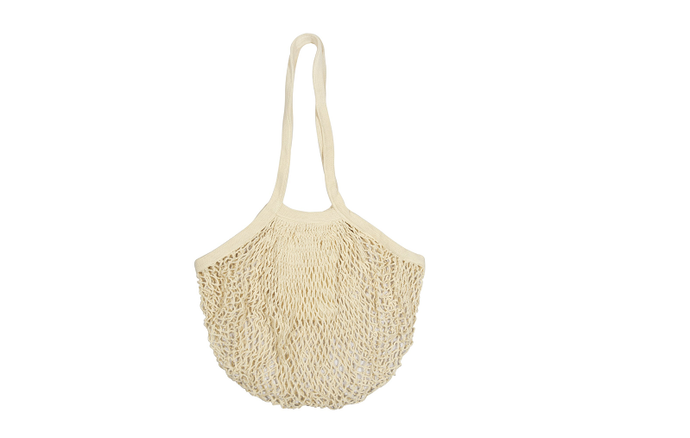 Organic Cotton Mesh Tote Bags