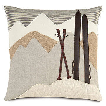 On The Piste Pillow