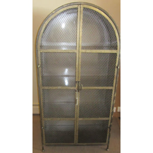 Arched Metal Cabinet