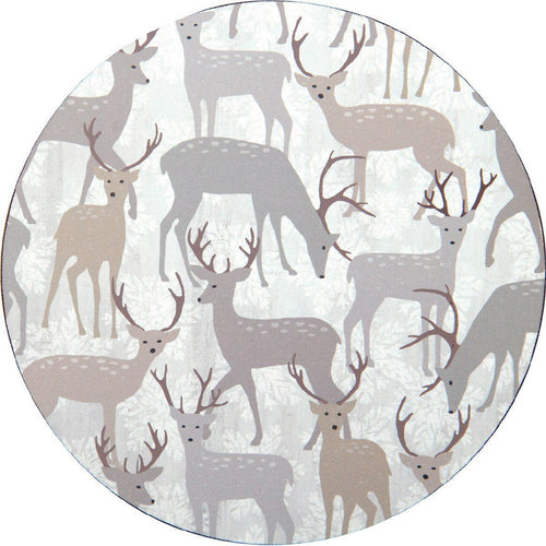 Winter Stags Coasters