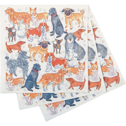 Dogville Cocktail Napkins