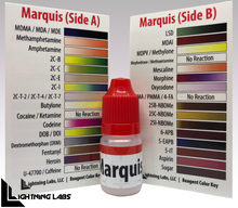 "Load image into Gallery viewer, Marquis, Ehrlich, & Simon Test ""Flip Kit"" for MDMA, Meth, LSD, etc (5ml bottles)"