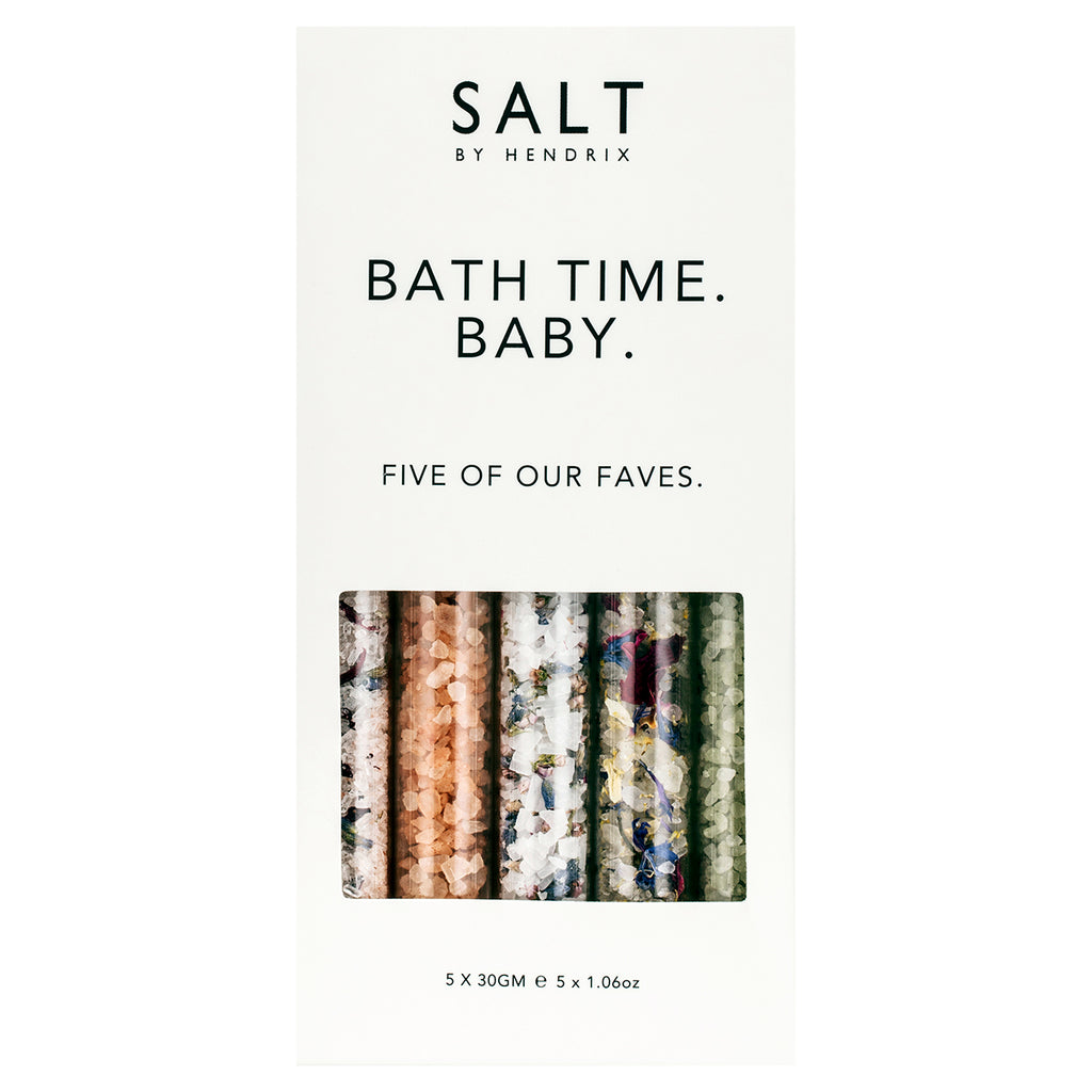 Bath Time Baby Set of 5