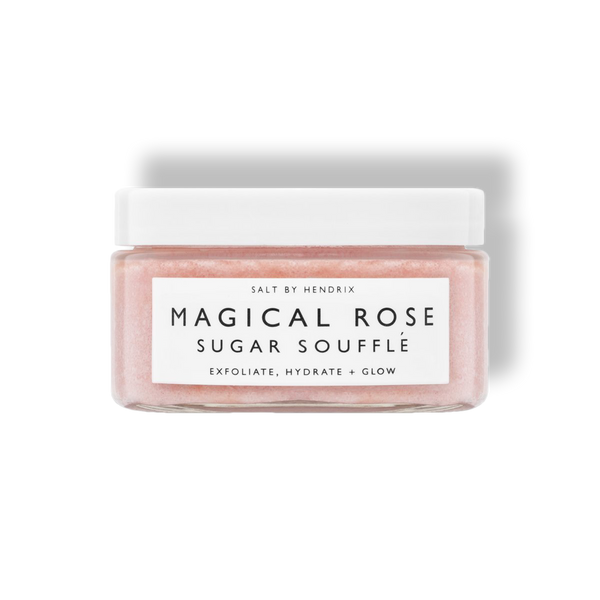 Magical Rose Sugar Souffle