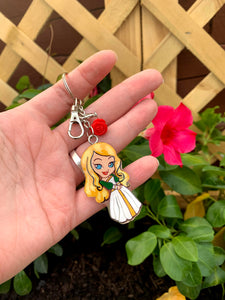 Princess Inspired Keychain