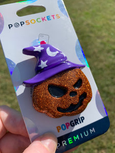 "Pumpkin Witch ""Pop"" Inspired Phone Grip/Stand"