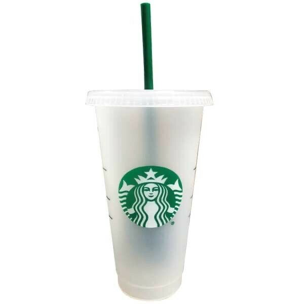 Custom Venti Cup with Straw