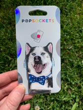 "Load image into Gallery viewer, Custom Zeus Dog Head Inspired ""Pop"" Cell Phone Grip/ Stand"
