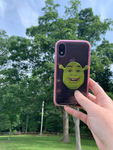 "Ogre Inspired ""Pop"" Cell Phone Stand/ Grip"