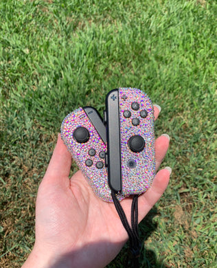 Crystal Switch Joy-Con Game Controller